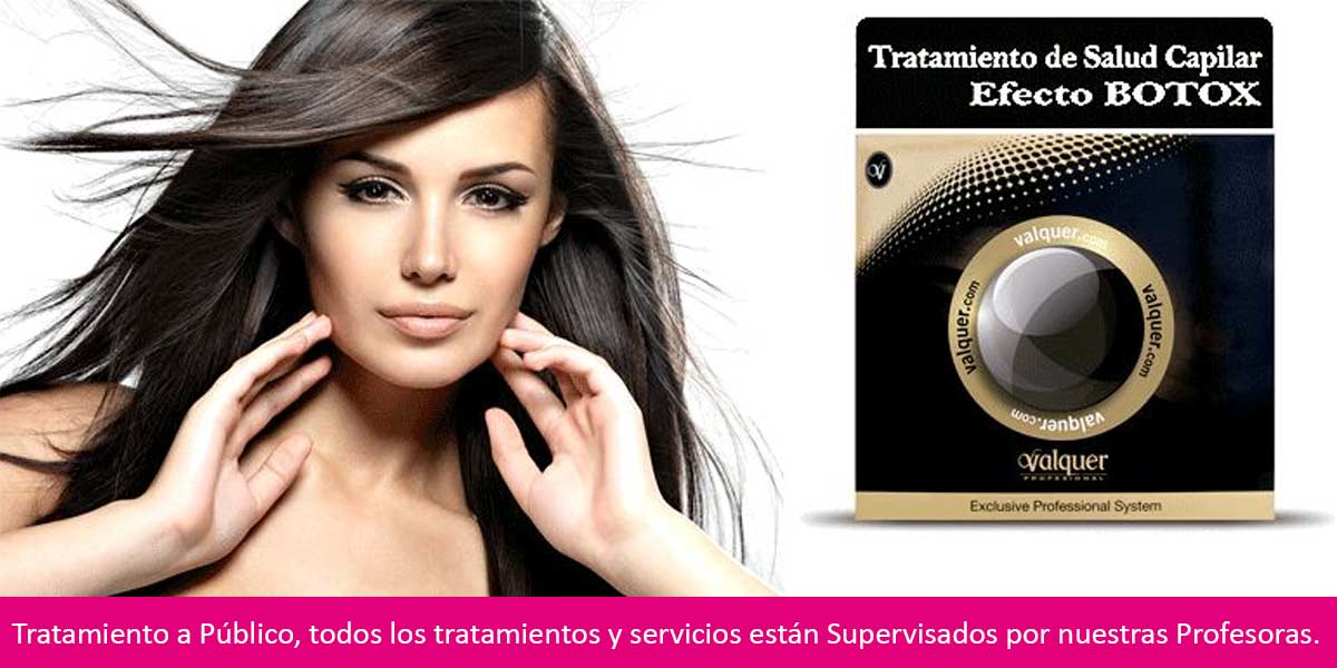 Academia Quality Center Tratamiento Botox Capilar
